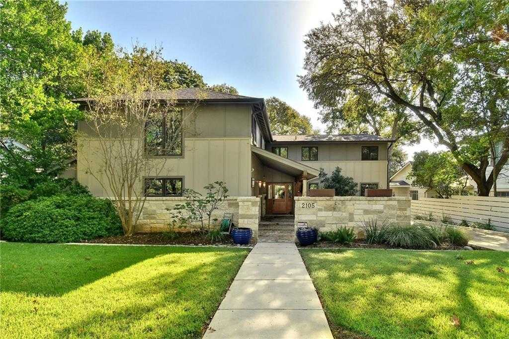 $1,618,000 - 5Br/4Ba -  for Sale in Sherwood Forest - Tarrytown, Austin