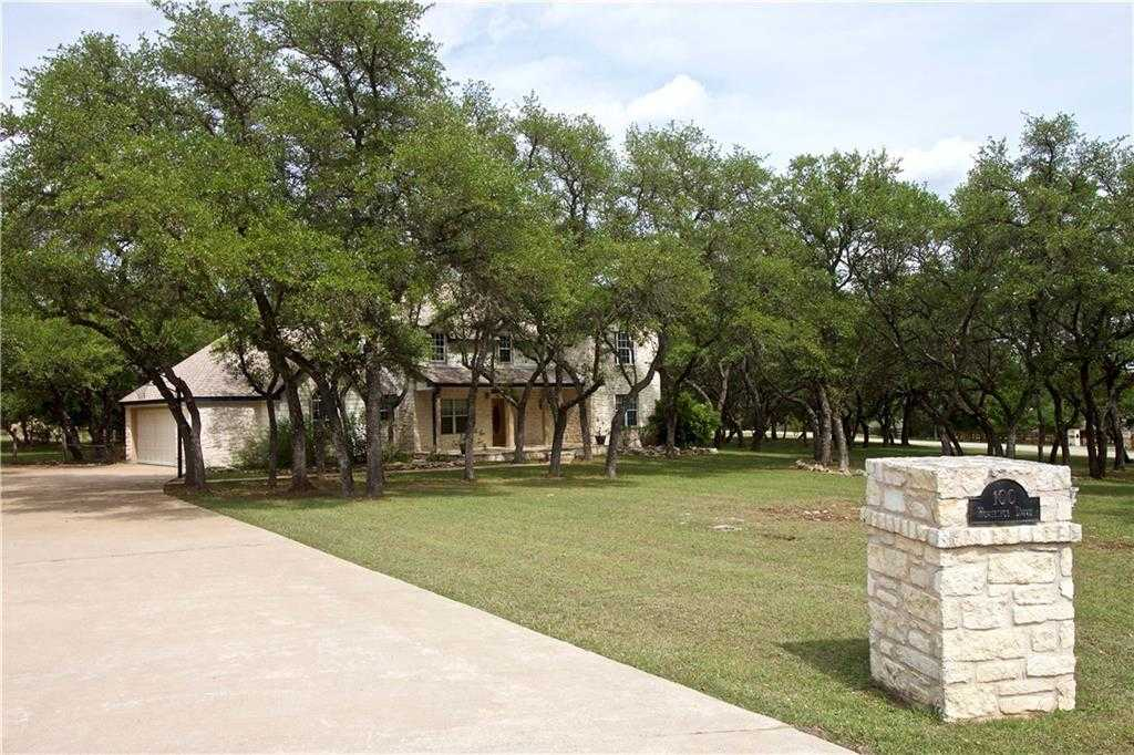 $489,000 - 5Br/4Ba -  for Sale in Saddletree Ranch Sec 1, Dripping Springs