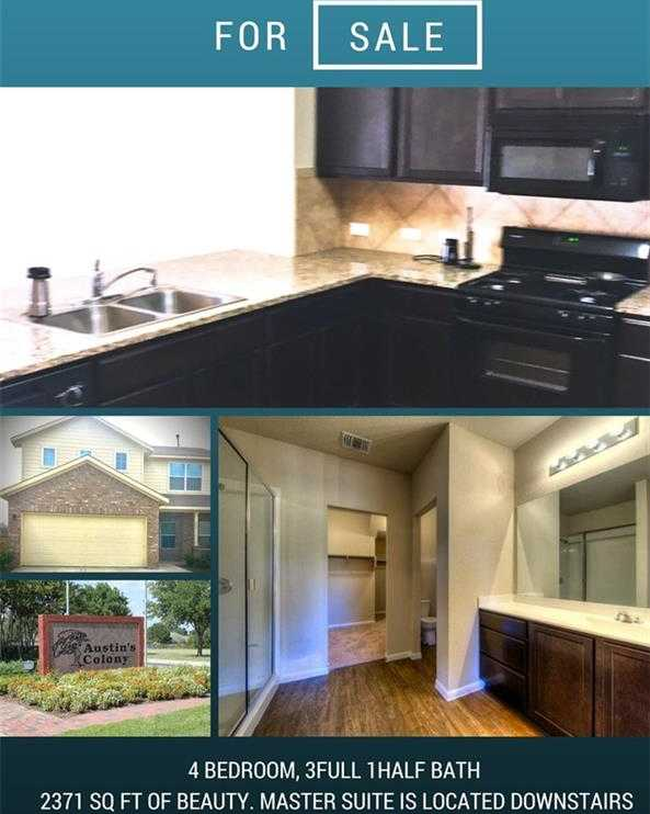 $237,500 - 5Br/3Ba -  for Sale in Austin's Colony, Austin