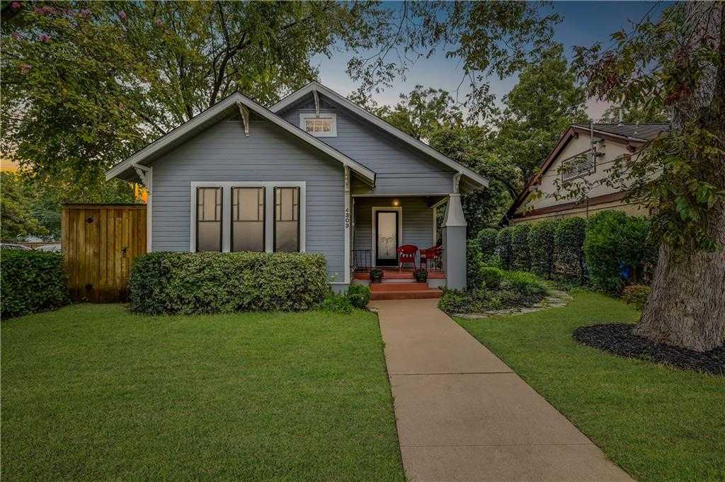 $949,000 - 2Br/3Ba -  for Sale in Hyde Park Add 01, Austin