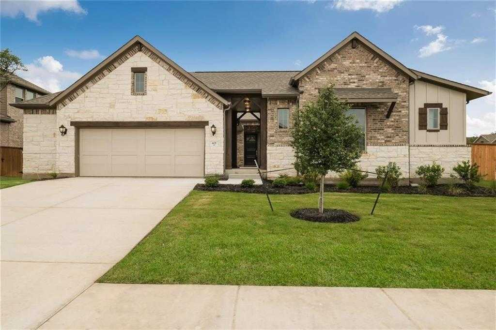 $458,990 - 4Br/3Ba -  for Sale in Parkside At Mayfield Ranch, Georgetown