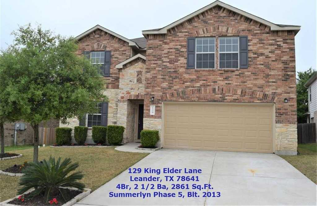 $264,900 - 4Br/3Ba -  for Sale in Summerlyn Phase 5b, Leander