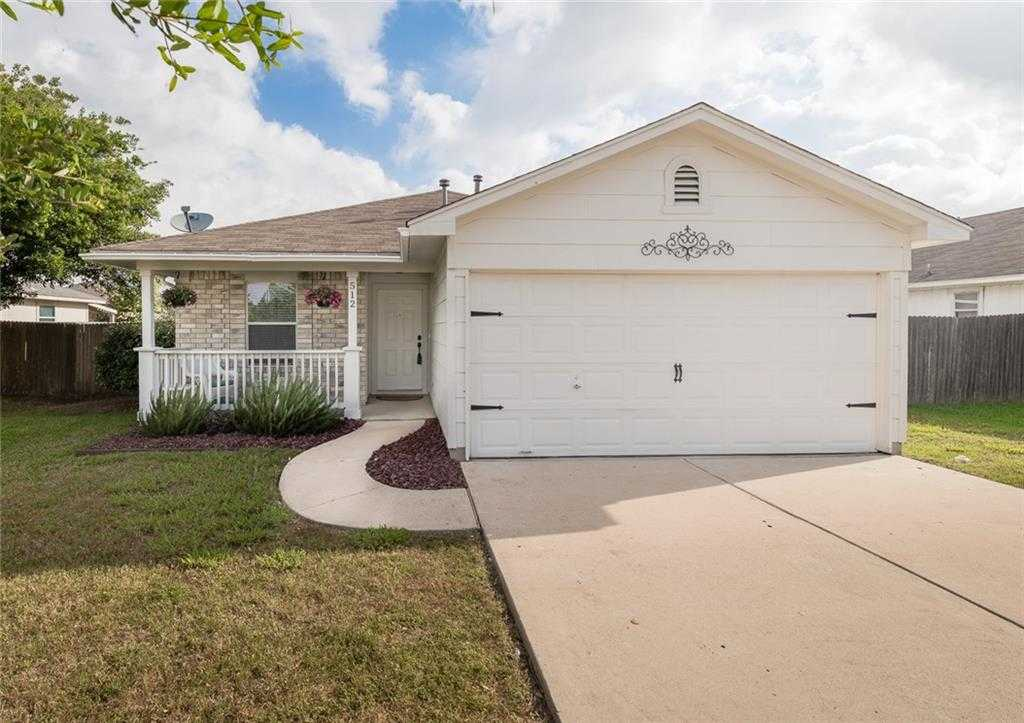 $189,995 - 3Br/2Ba -  for Sale in Glenwood Ph 2b, Hutto