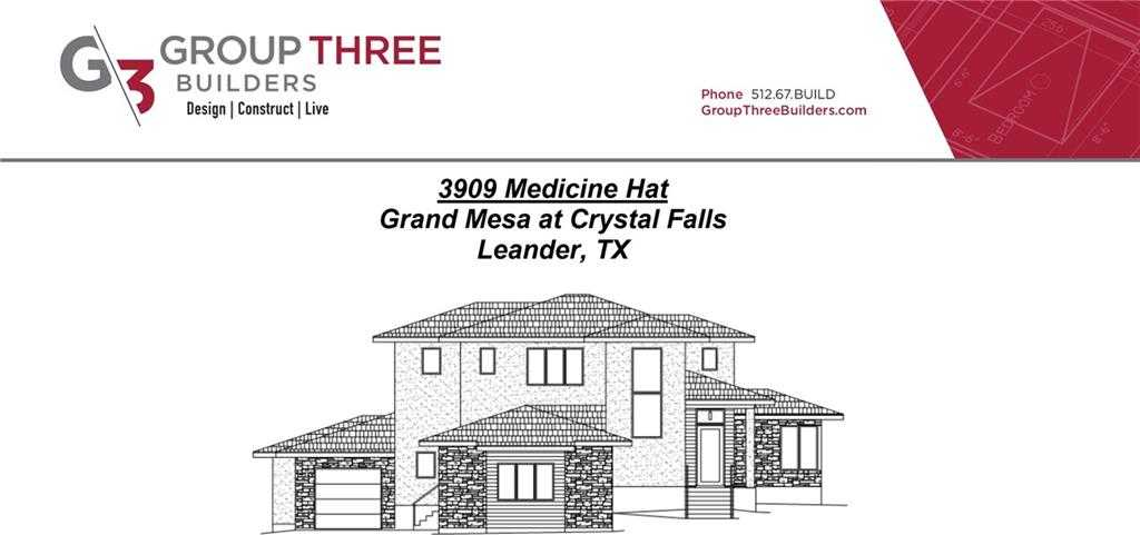 $875,000 - 4Br/4Ba -  for Sale in Grand Mesa At Crystal Falls Ii, Leander
