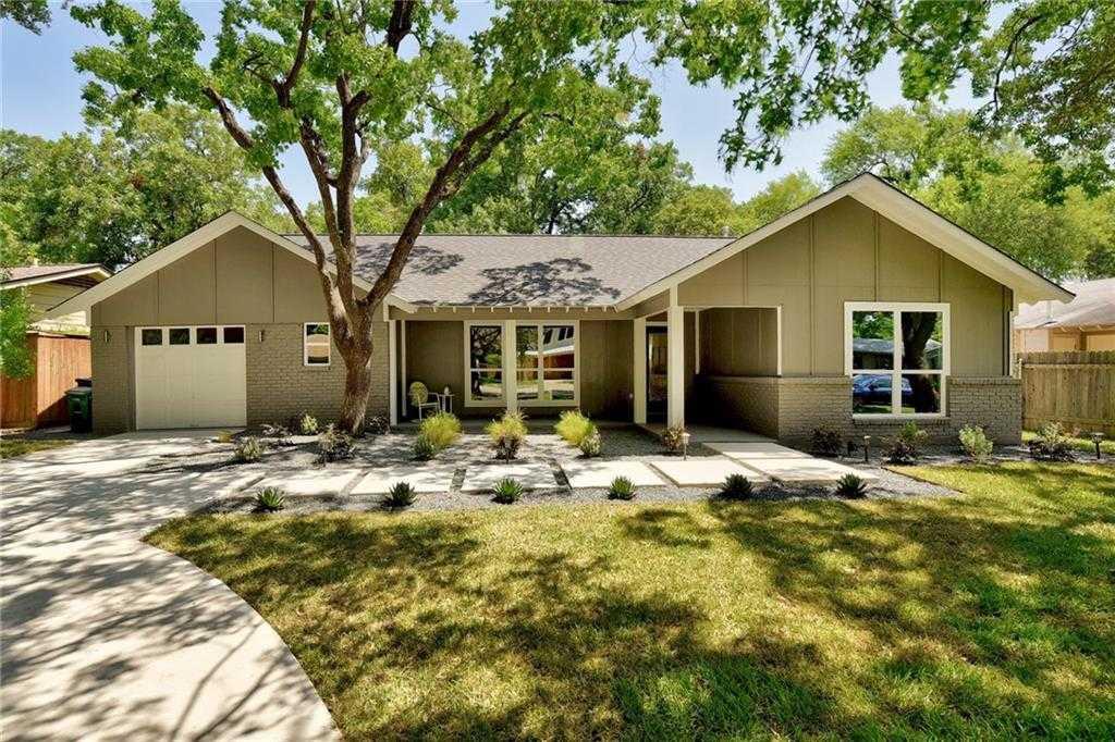 $799,950 - 4Br/3Ba -  for Sale in Allandale Park, Austin
