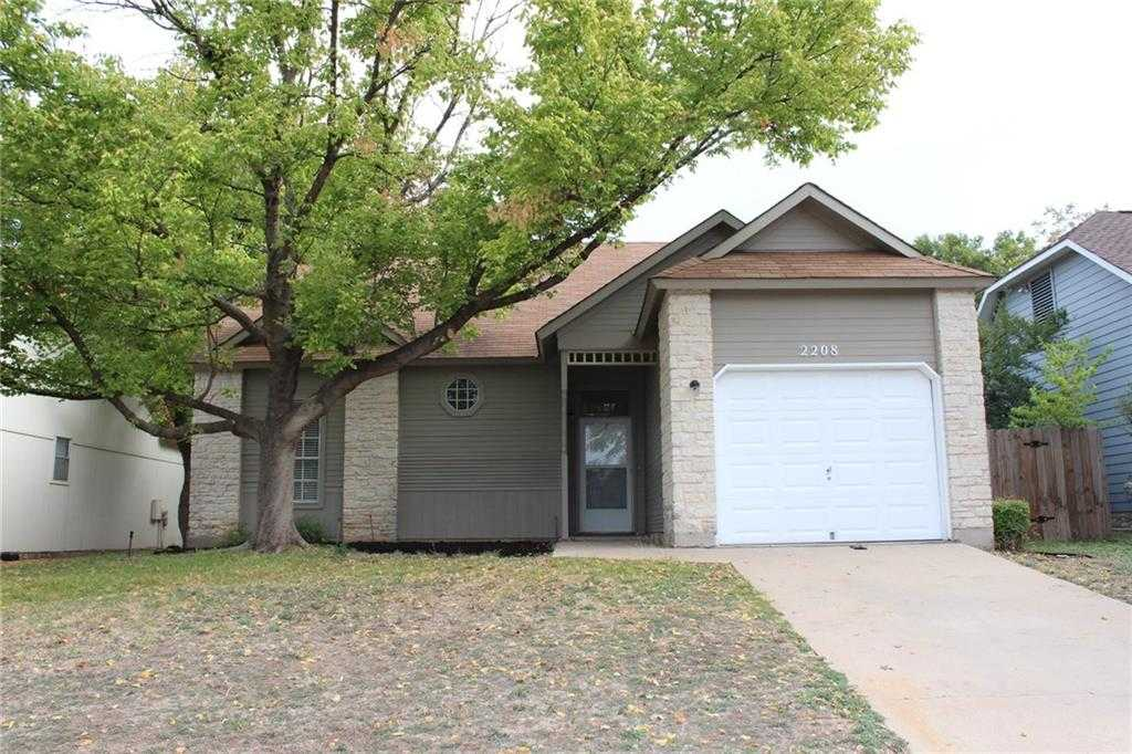 $297,500 - 3Br/2Ba -  for Sale in Wells Branch Ph A Sec 03, Austin