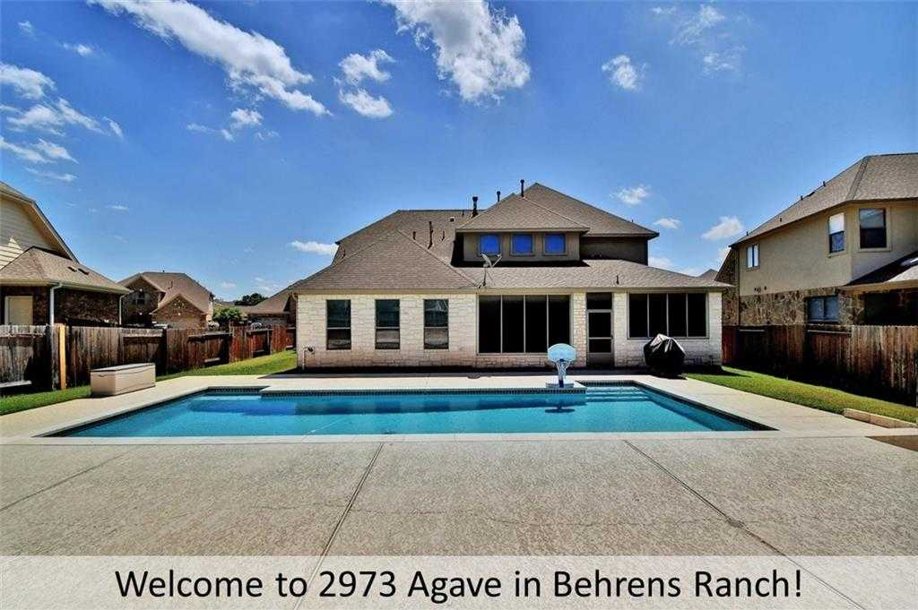 $520,000 - 4Br/4Ba -  for Sale in Behrens Ranch Ph D Sec 3b, Round Rock