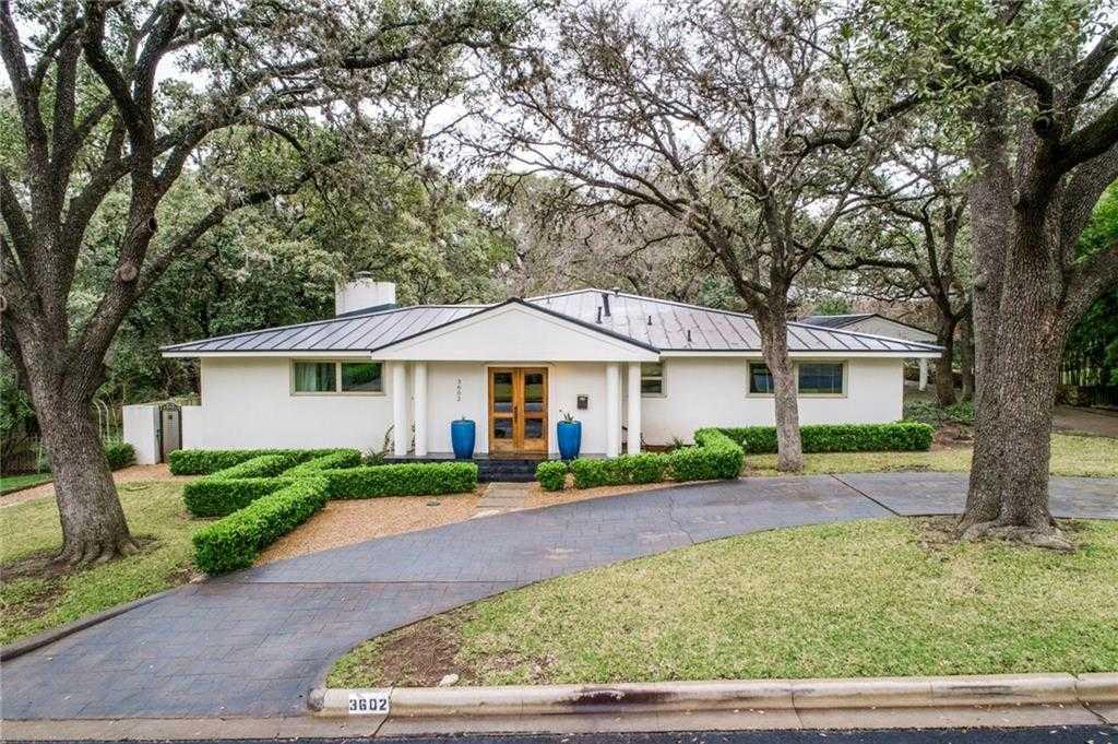 $1,990,000 - 3Br/4Ba -  for Sale in Tarrytown River Oaks, Austin