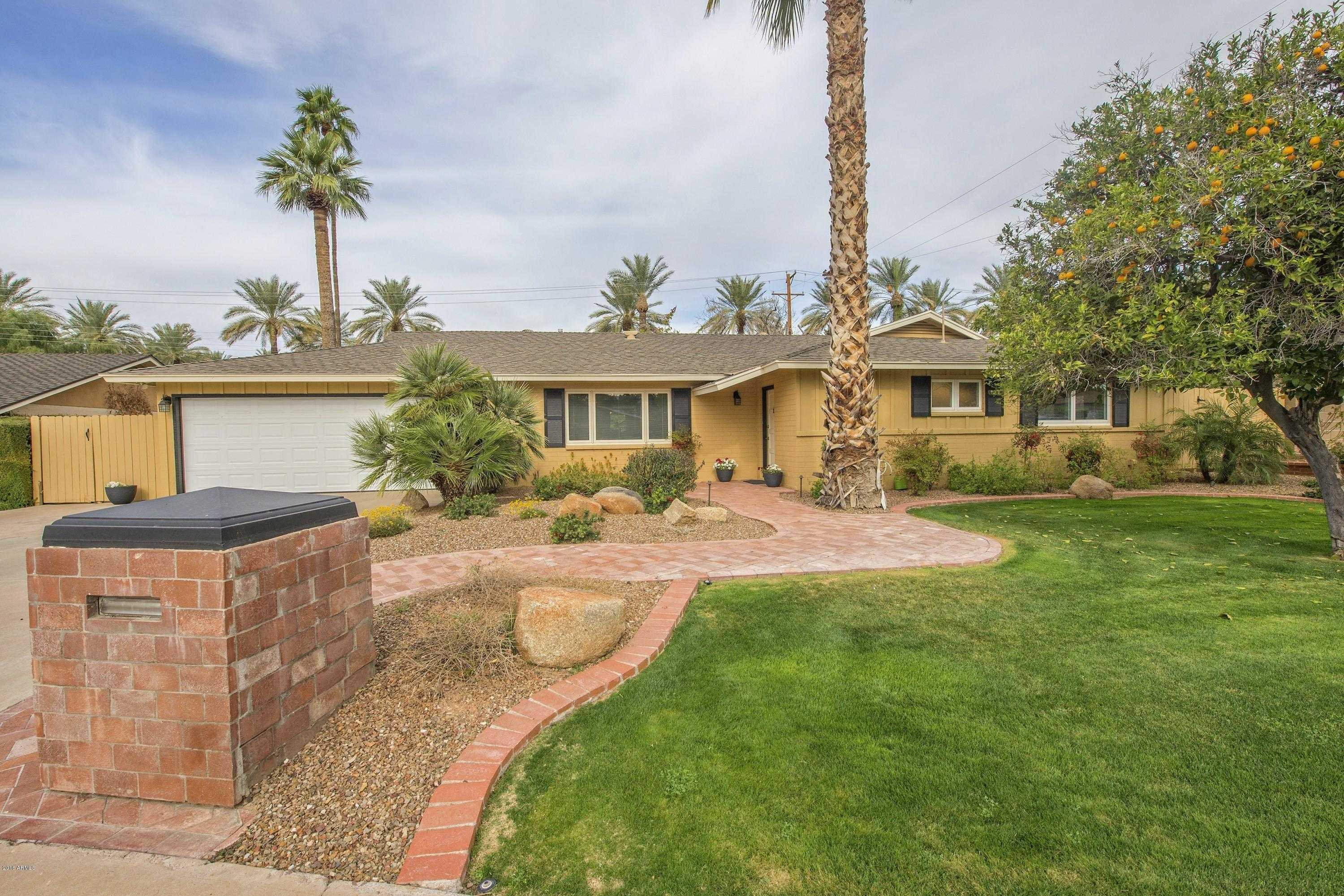 $4,750 - 4Br/3Ba - Home for Sale in Arcadia Meadows, Phoenix