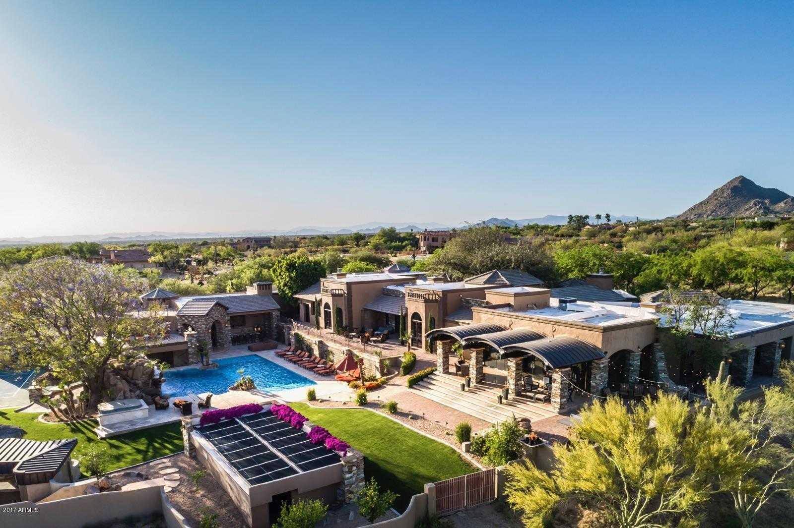 $7,995,000 - 7Br/10Ba - Home for Sale in Pinnacle Peak Heights Unit 6, Scottsdale