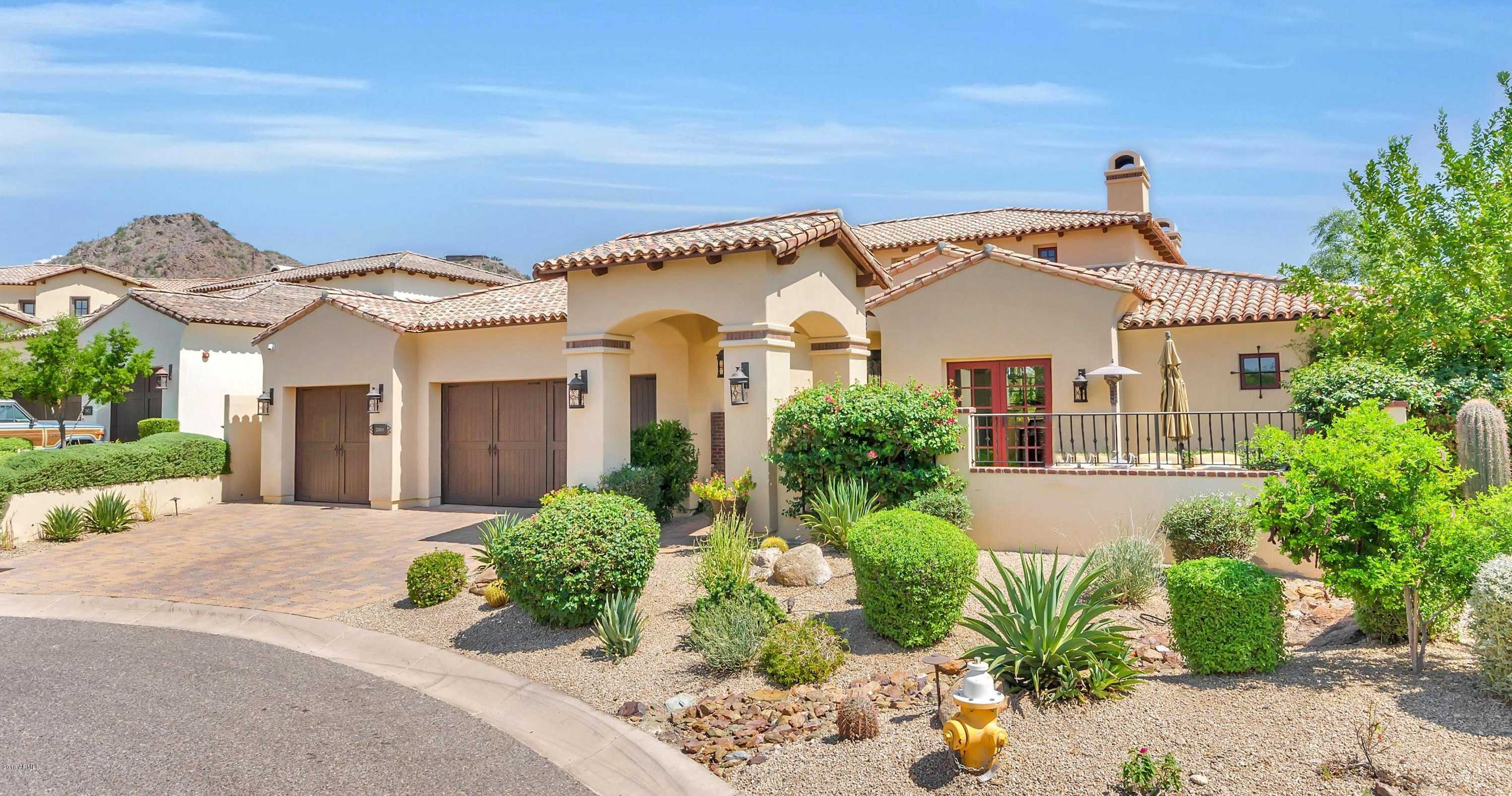 $2,075,000 - 3Br/4Ba - Home for Sale in The Village At Paradise Reserve, Paradise Valley