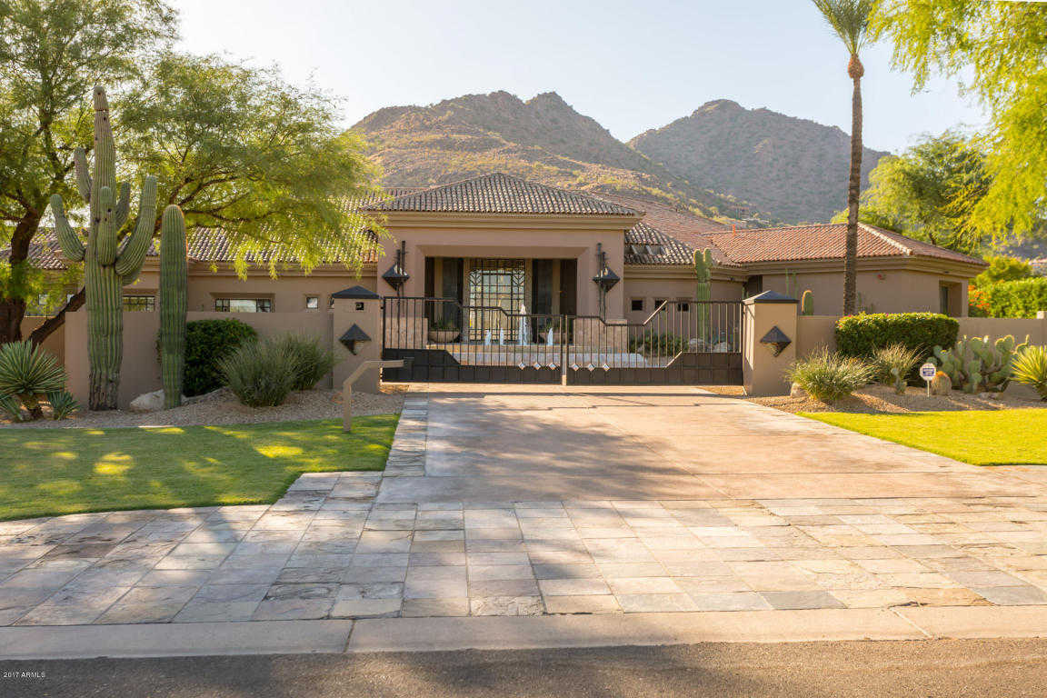 $4,500,000 - 5Br/7Ba - Home for Sale in Camelback Lands, Paradise Valley