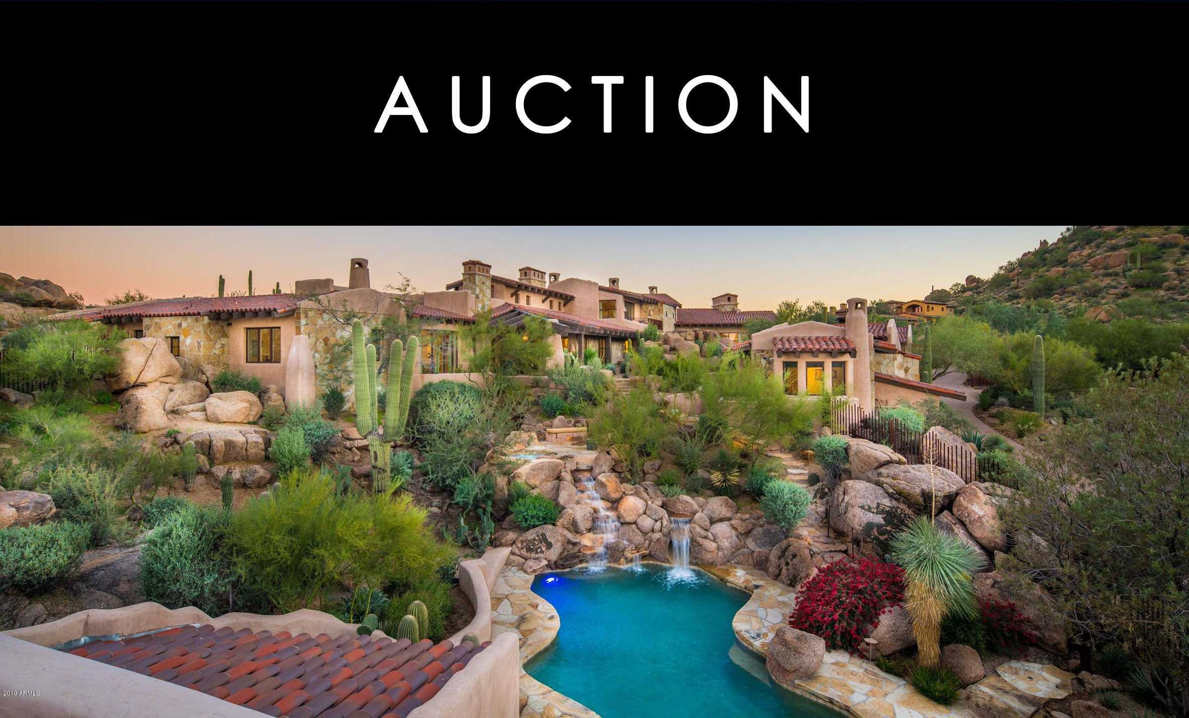 $9,500,000 - 8Br/11Ba - Home for Sale in Estancia Phase 6, Scottsdale
