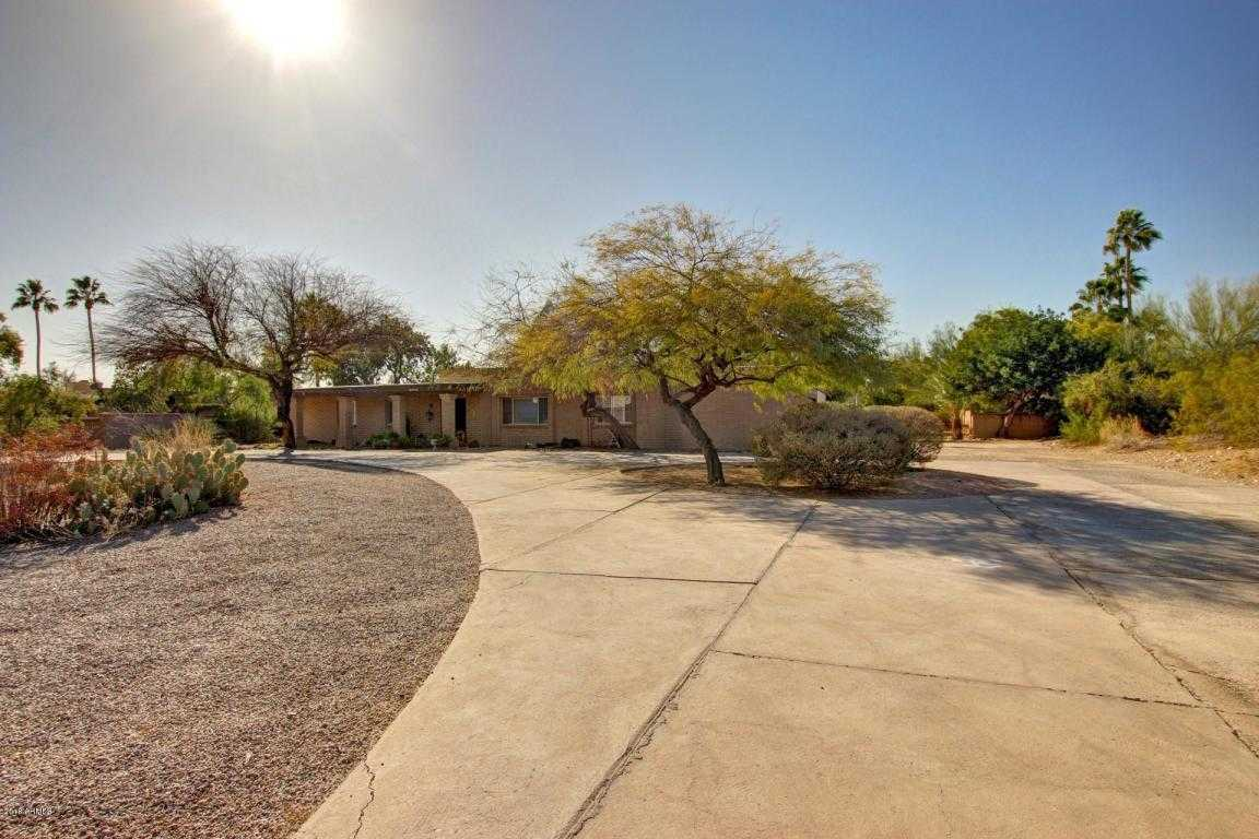 $1,000,000 - 5Br/3Ba - Home for Sale in Camelback Country Estates, Paradise Valley