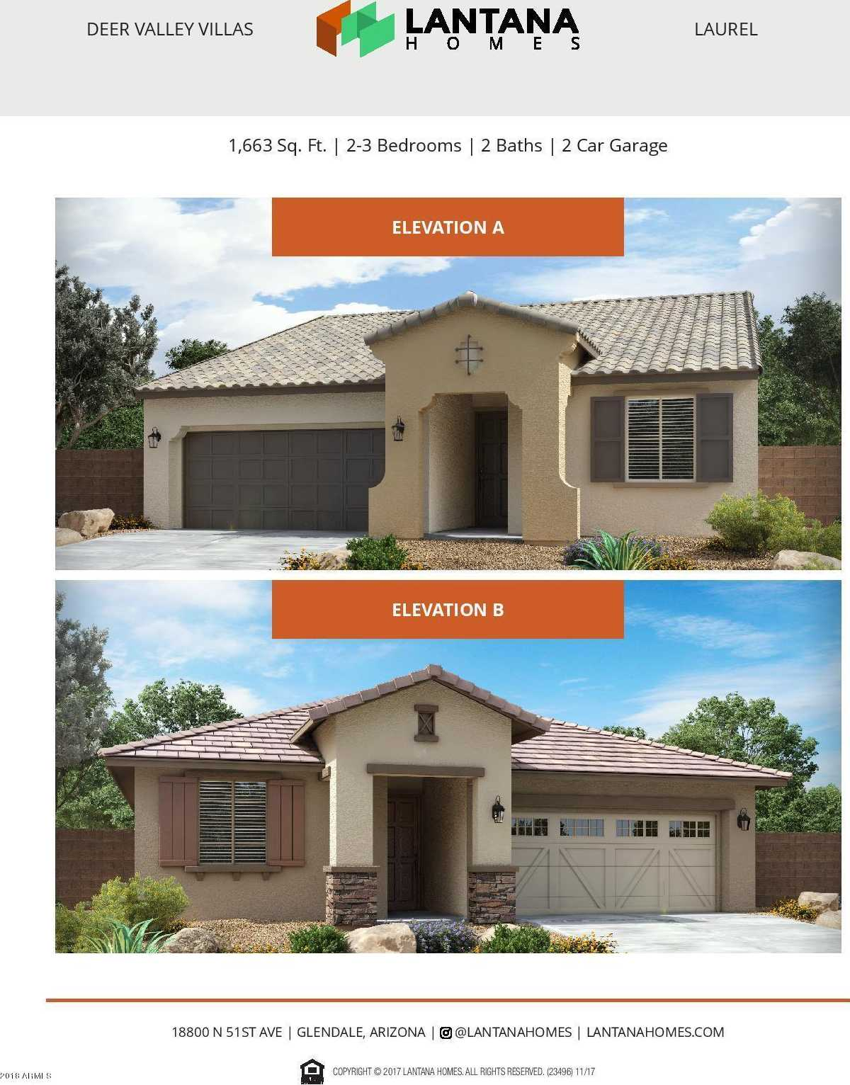 $325,400 - 3Br/2Ba - Home for Sale in Deer Valley Villas, Glendale