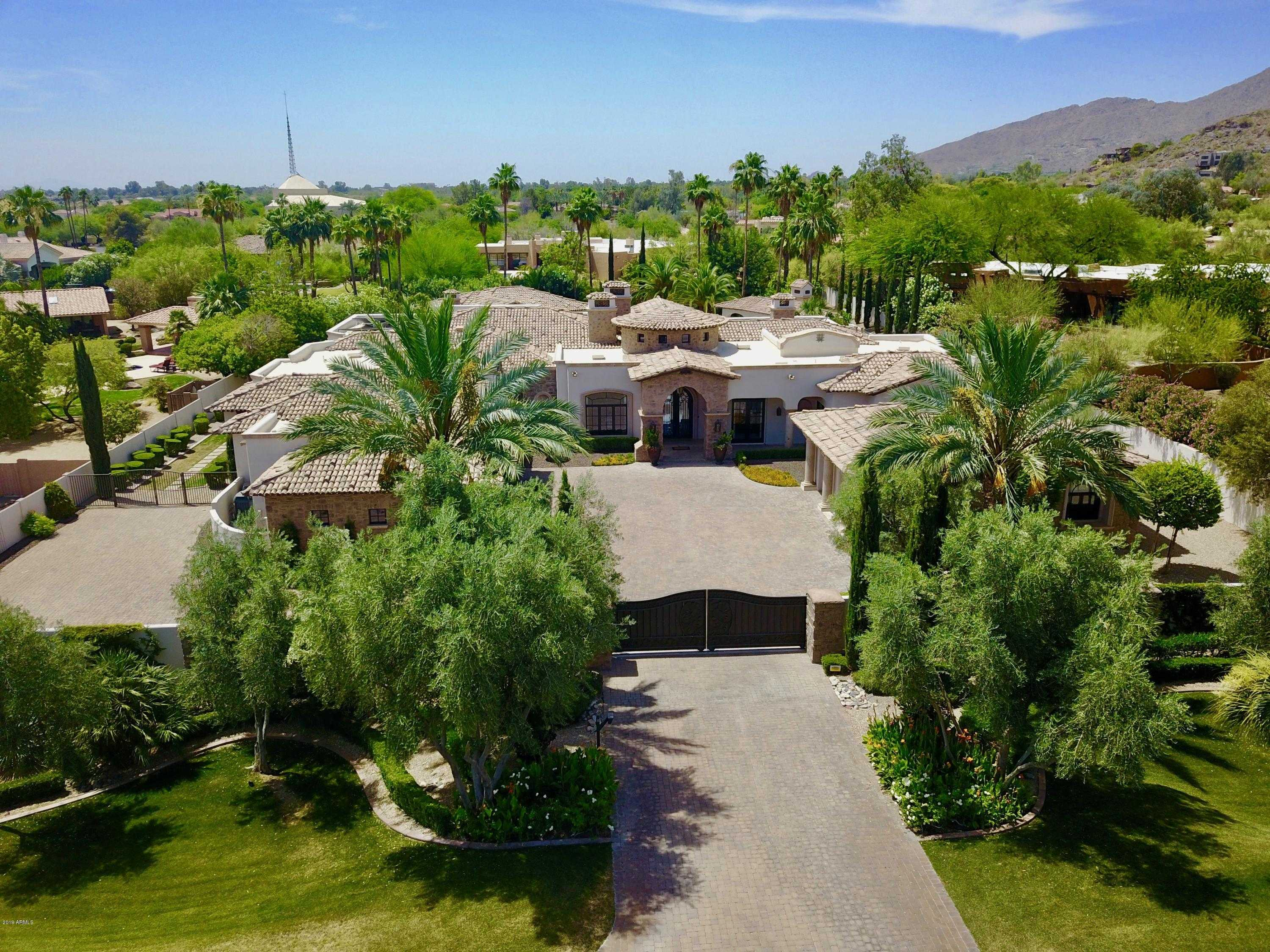 $4,199,000 - 6Br/9Ba - Home for Sale in Sectional, Paradise Valley