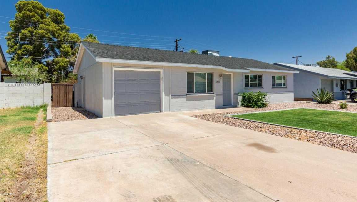 $295,000 - 3Br/2Ba - Home for Sale in Papago Parkway 5, Tempe