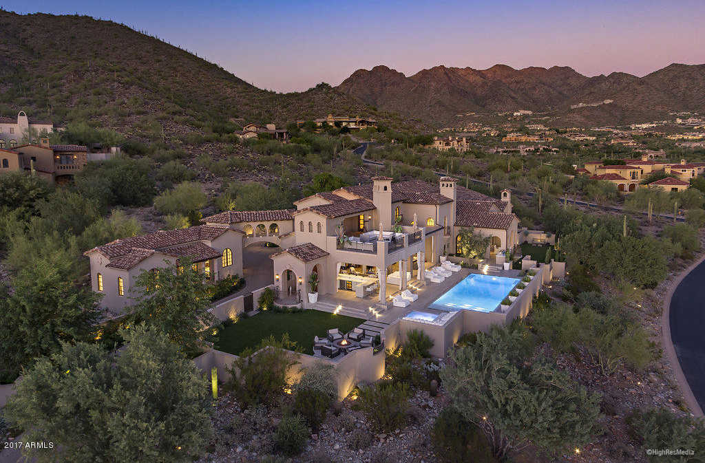 $7,995,000 - 6Br/7Ba - Home for Sale in Silverleaf At Dc Ranch, Scottsdale