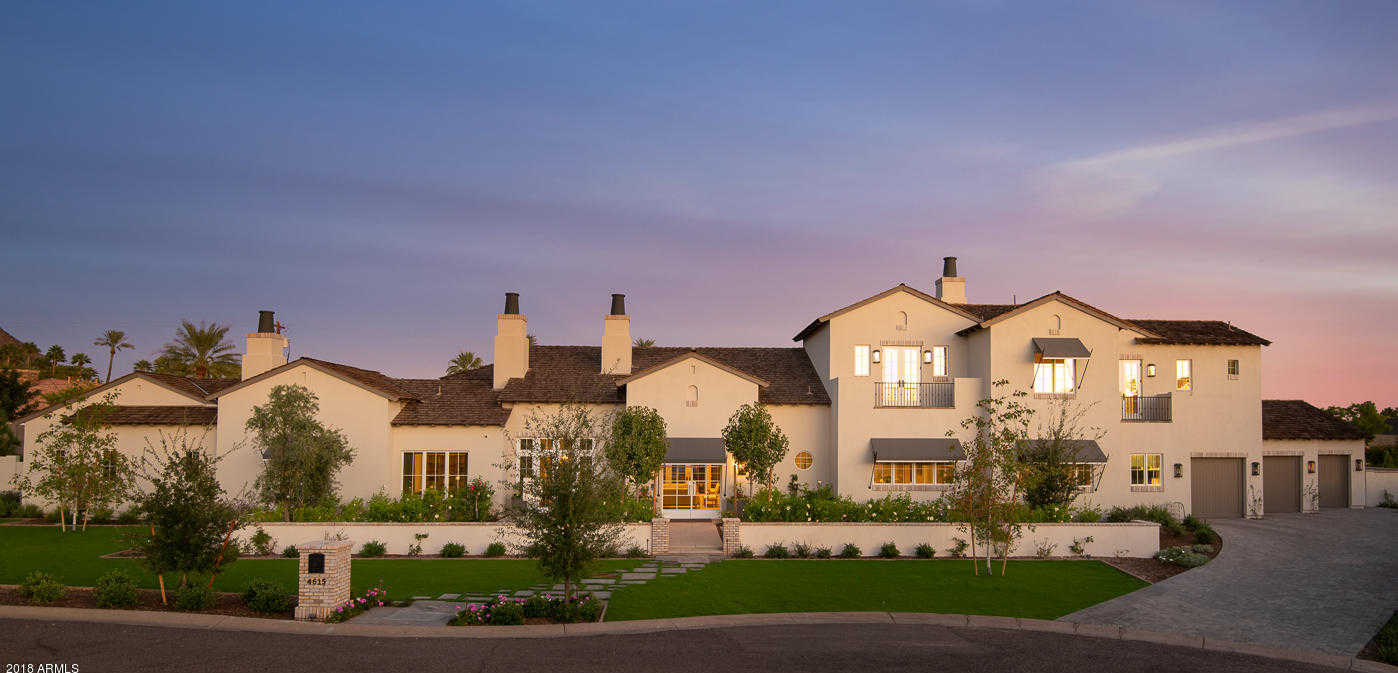 $3,895,000 - 5Br/6Ba - Home for Sale in Royal Palm Circle, Phoenix