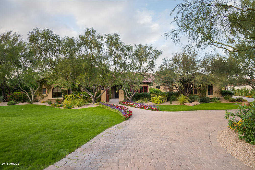 $3,395,000 - 5Br/6Ba - Home for Sale in Casa Blanca Estates Lot 20-37 & Tr A, Paradise Valley