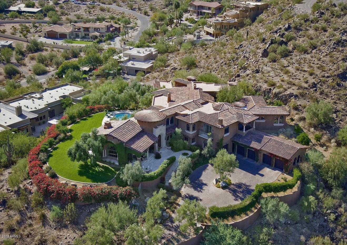 $5,800,000 - 4Br/7Ba - Home for Sale in Desert Foothills Manor Lots 1 & 2 Replat, Paradise Valley