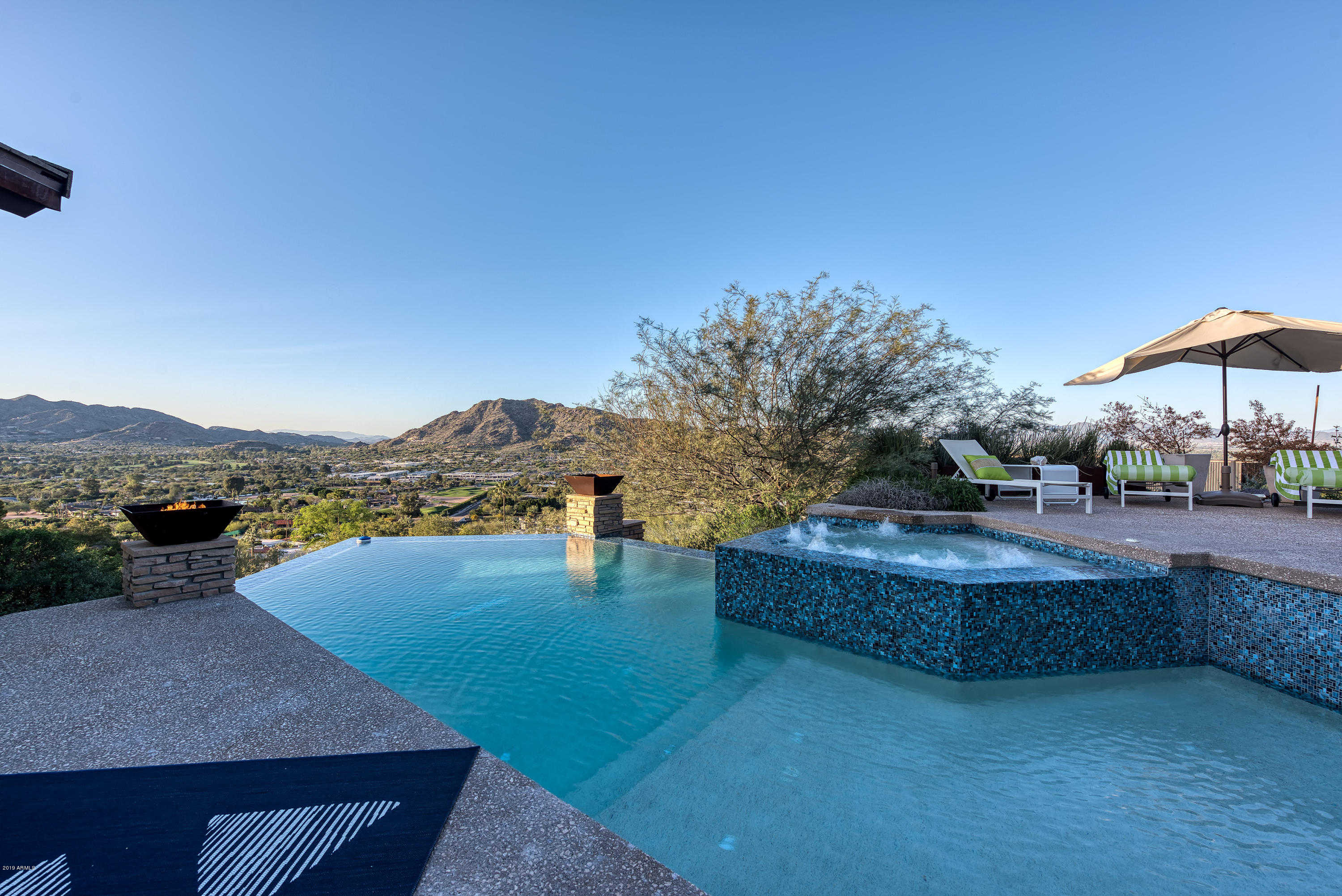 $5,500,000 - 3Br/4Ba - Home for Sale in Tennis Ranch On Camelback, Paradise Valley
