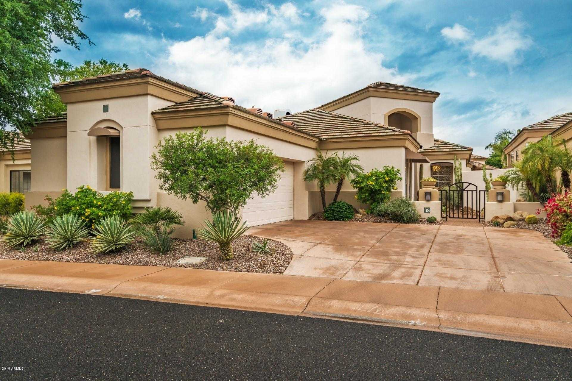 $849,900 - 2Br/3Ba - Home for Sale in Parcel 26 At Gainey Ranch Lot 1-61 Tr A, Scottsdale