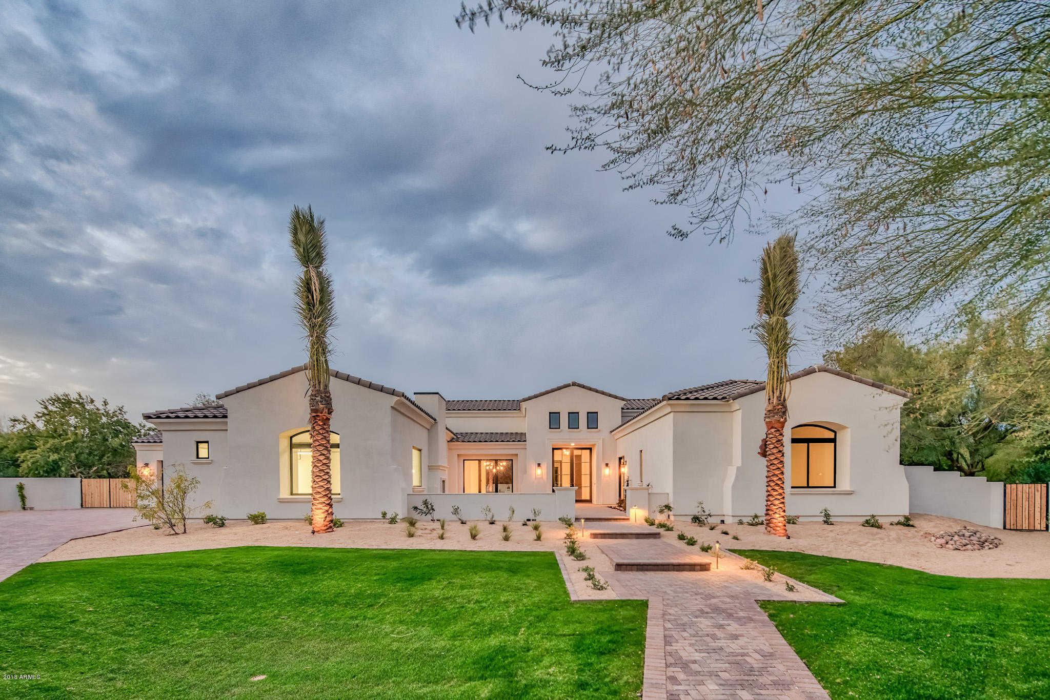 $3,250,000 - 5Br/6Ba - Home for Sale in Mockingbird Lane Estates, Paradise Valley