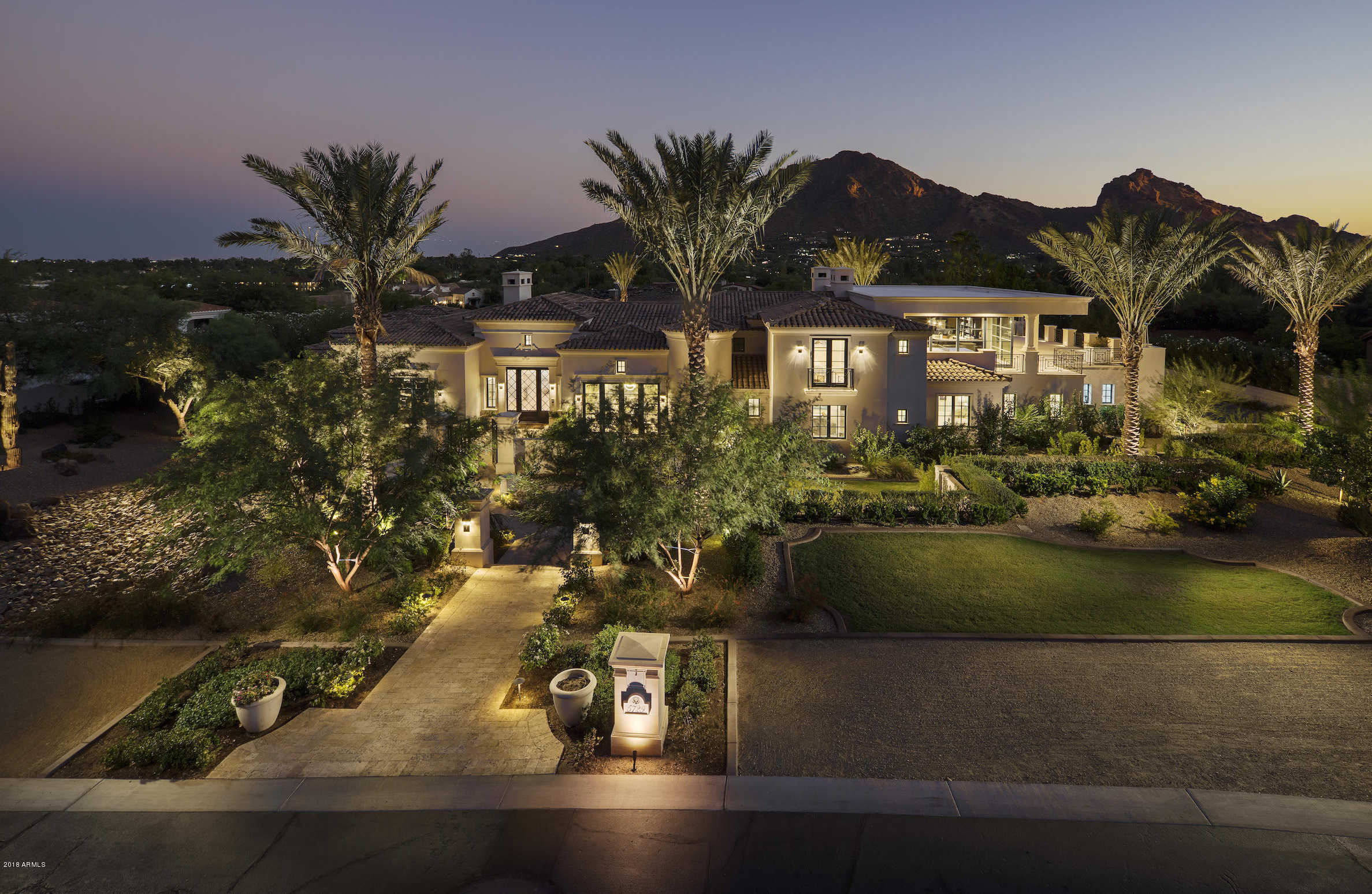 $4,895,000 - 5Br/6Ba - Home for Sale in Club Estates, Paradise Valley