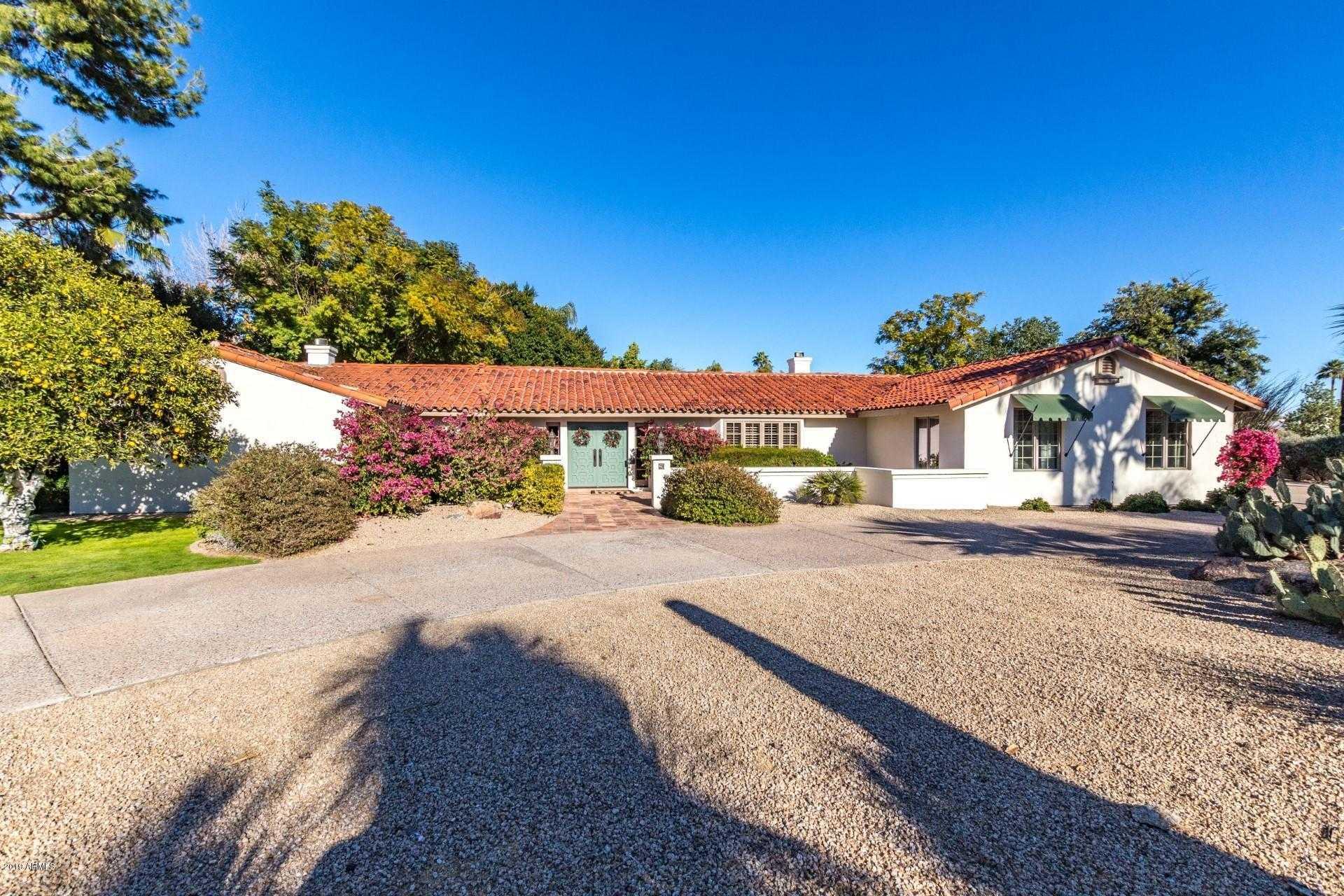 $1,750,000 - 3Br/3Ba - Home for Sale in Casa Blanca Estates Lot 20-37 & Tr A, Paradise Valley