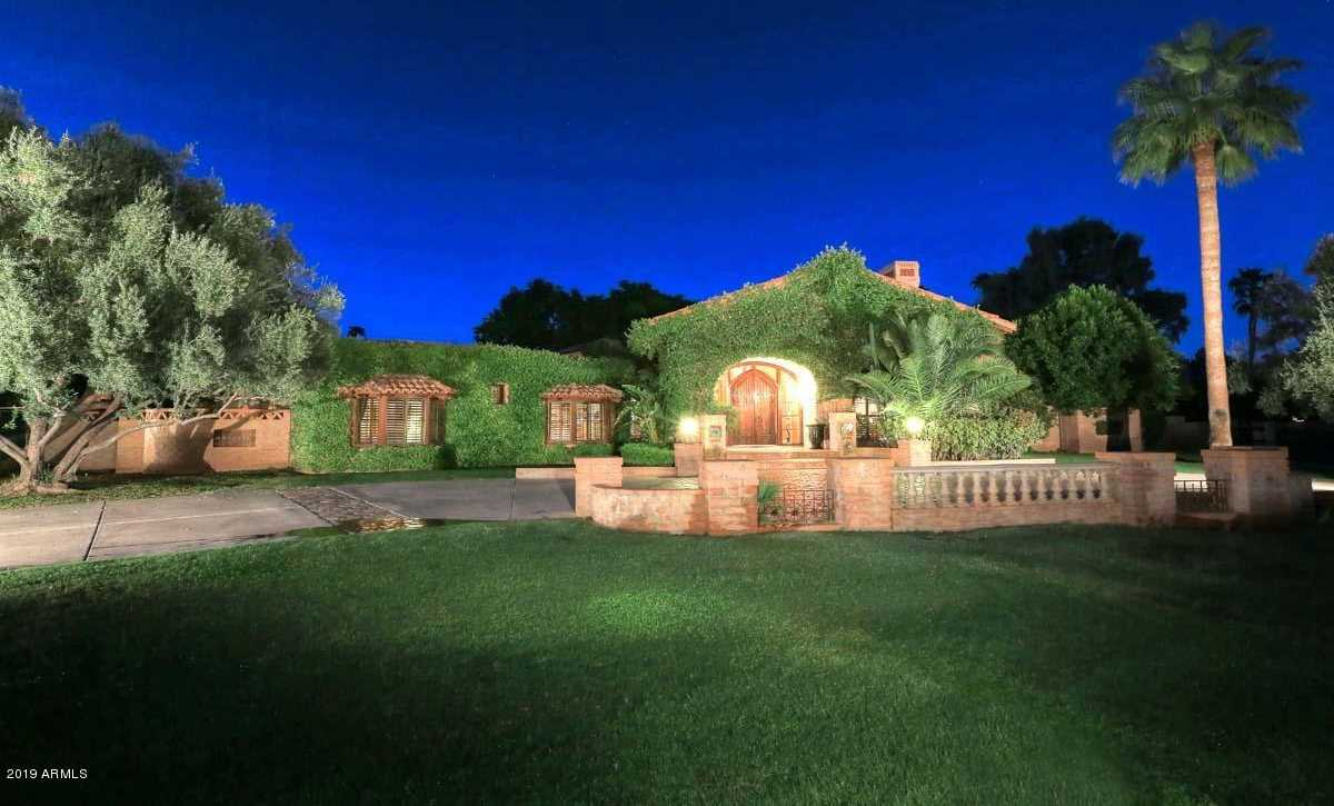 $2,249,000 - 5Br/6Ba - Home for Sale in Camelback Country Club Estates 6 Lot 134-152, Paradise Valley