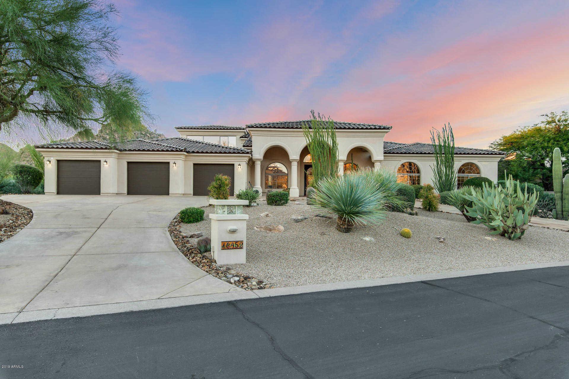 $1,248,800 - 5Br/4Ba - Home for Sale in Troon Fairways, Scottsdale