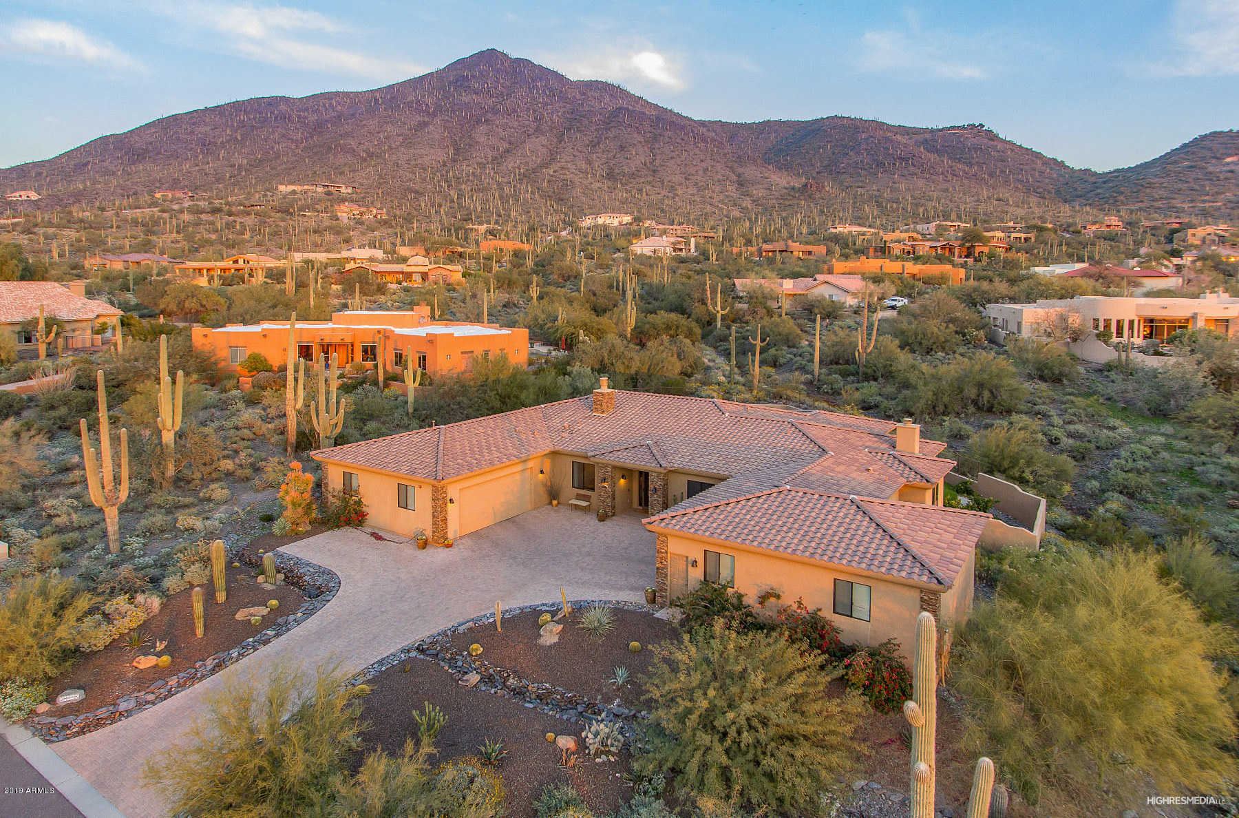 $1,150,000 - 5Br/5Ba - Home for Sale in Carefree Sentinel Rock Estates 2 Lot 63-133, Cave Creek