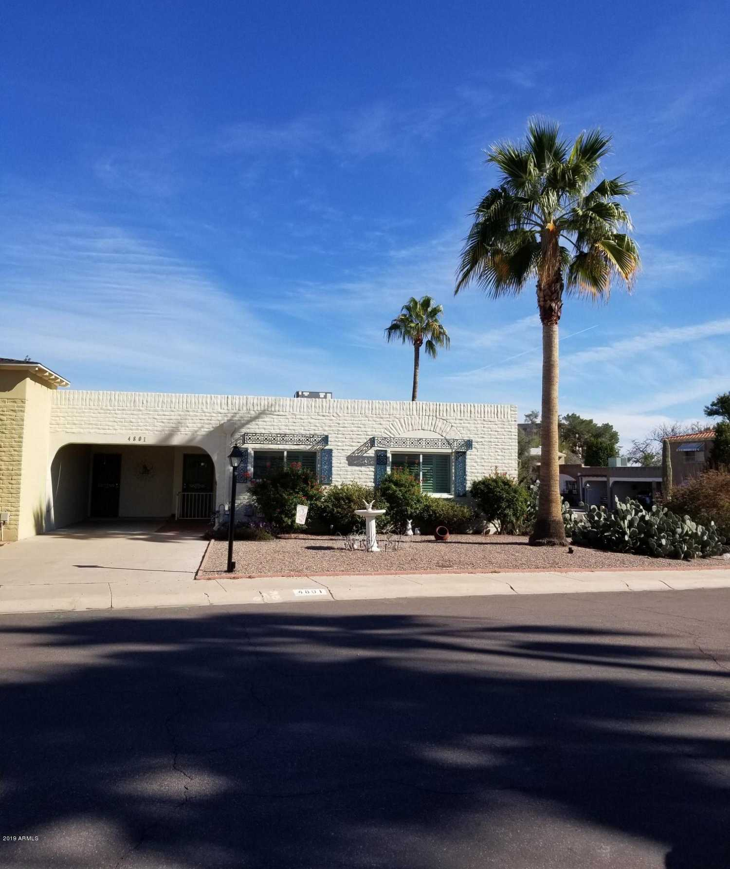 $329,900 - 2Br/2Ba -  for Sale in Villa Monterey 5, Scottsdale