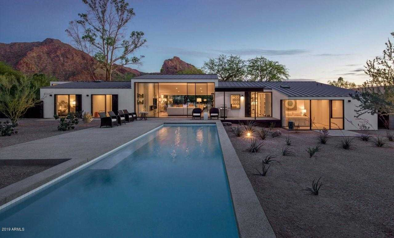 $2,850,000 - 4Br/3Ba - Home for Sale in Camelback Manor, Paradise Valley