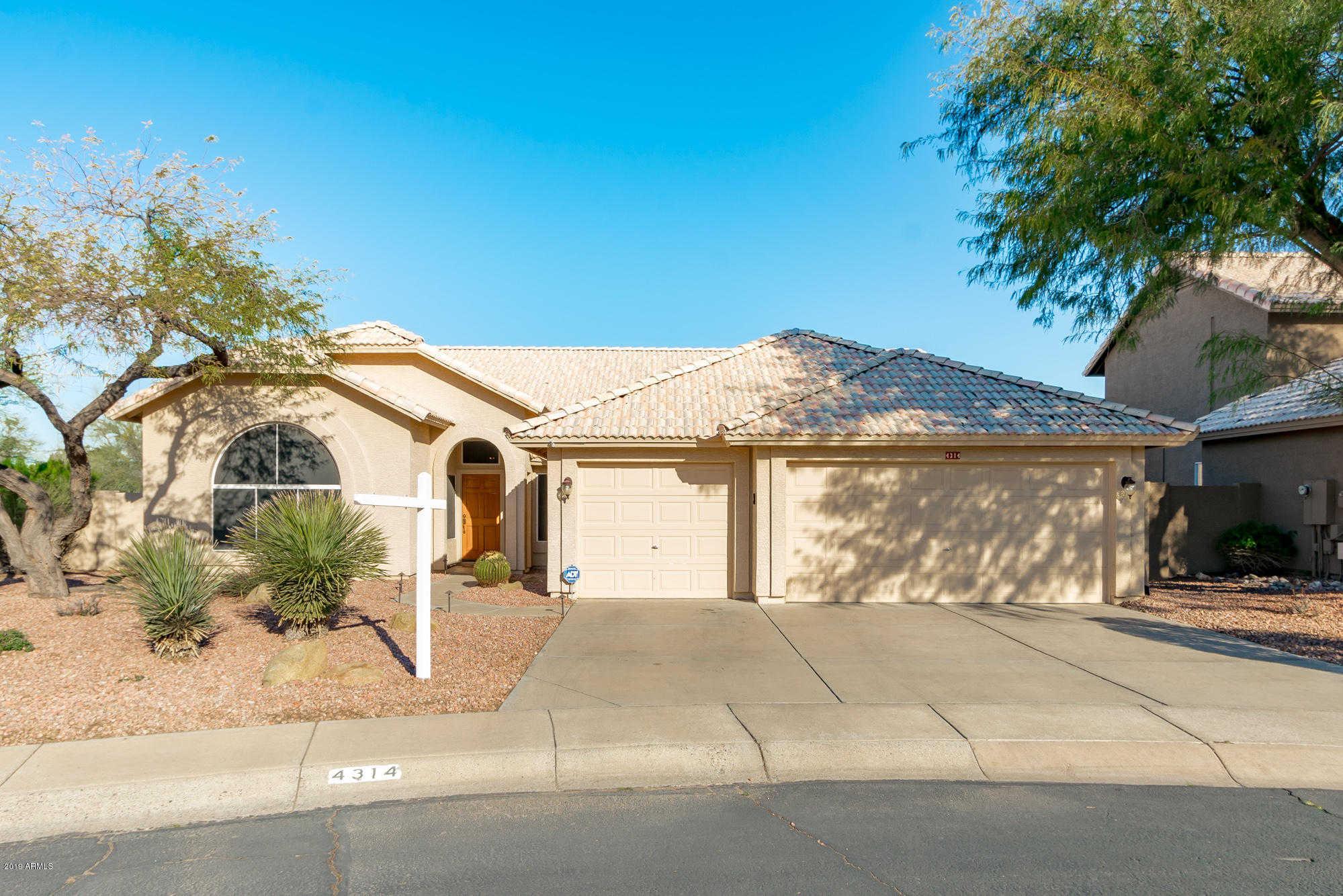 $449,900 - 4Br/2Ba - Home for Sale in Tatum Ranch Parcel 13 Lot 1-84, Cave Creek