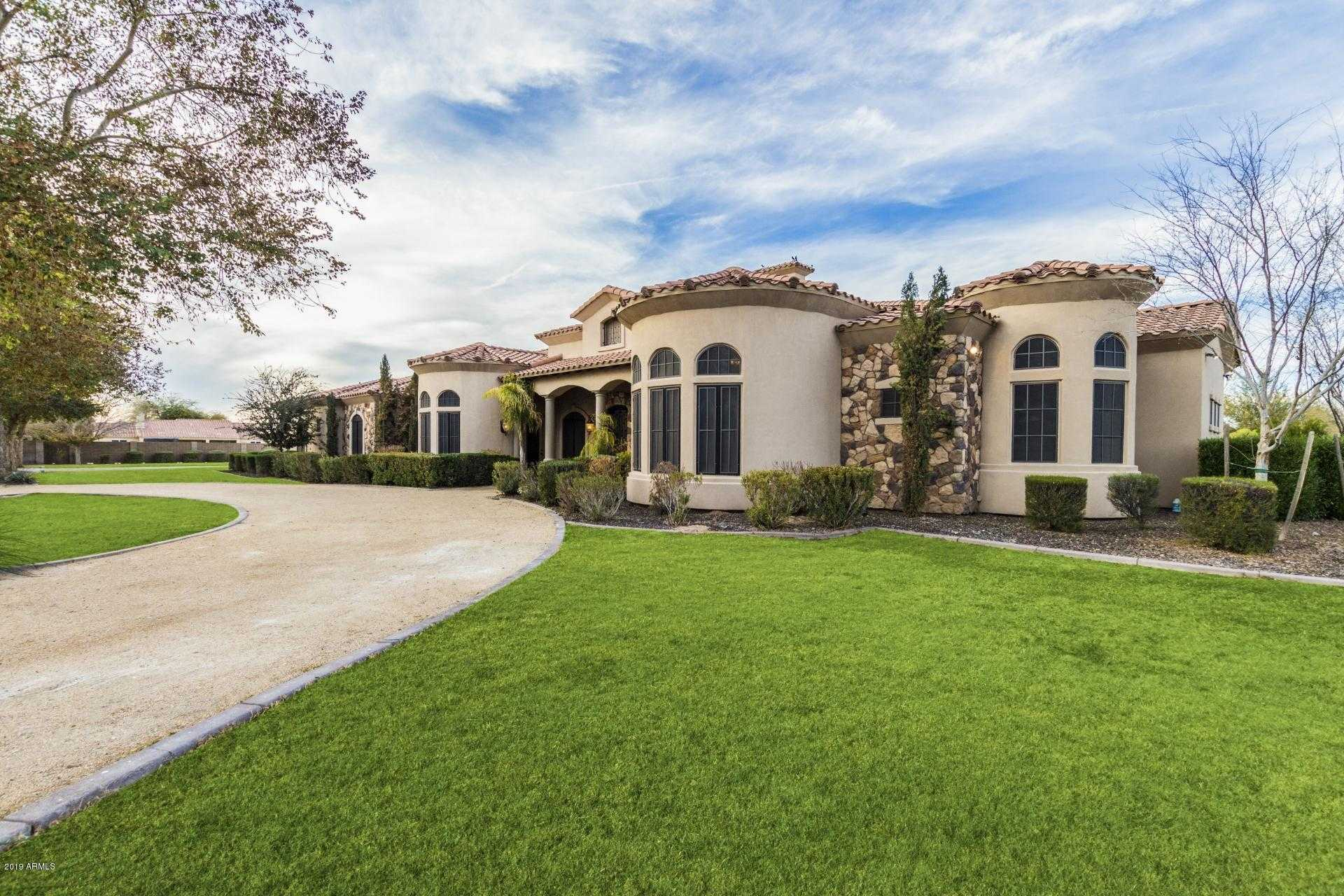 $1,195,000 - 5Br/4Ba - Home for Sale in Private Custom Estate, Chandler