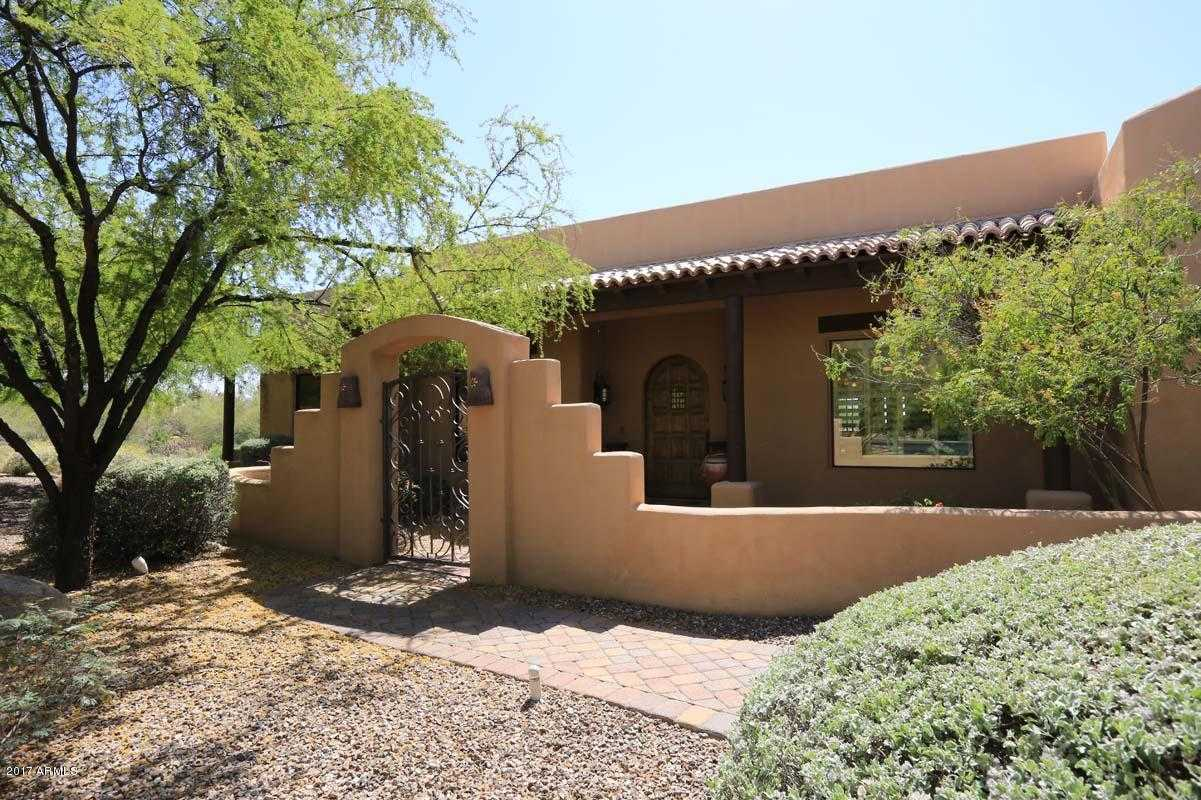 $829,000 - 5Br/4Ba - Home for Sale in Canyon Creek Estates, Carefree