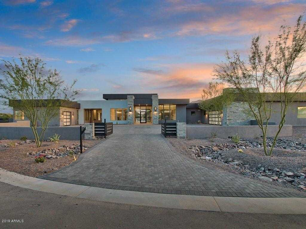 $4,125,000 - 4Br/5Ba - Home for Sale in Adobe Ranch Unit 1, Paradise Valley
