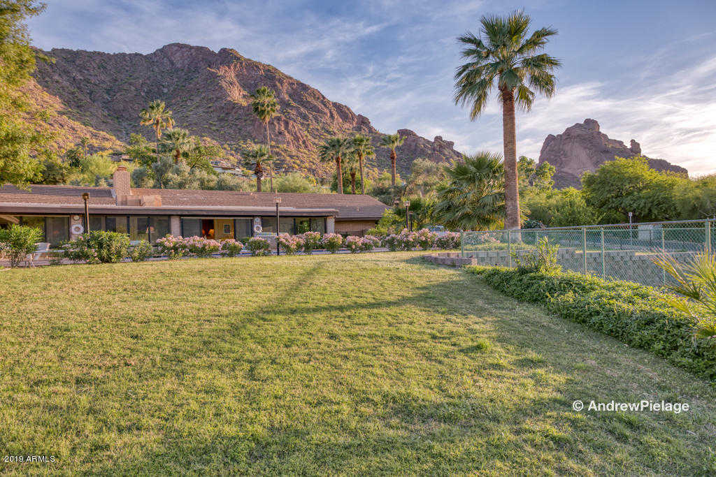 $3,295,000 - 4Br/5Ba - Home for Sale in Cameldale Properties, Paradise Valley