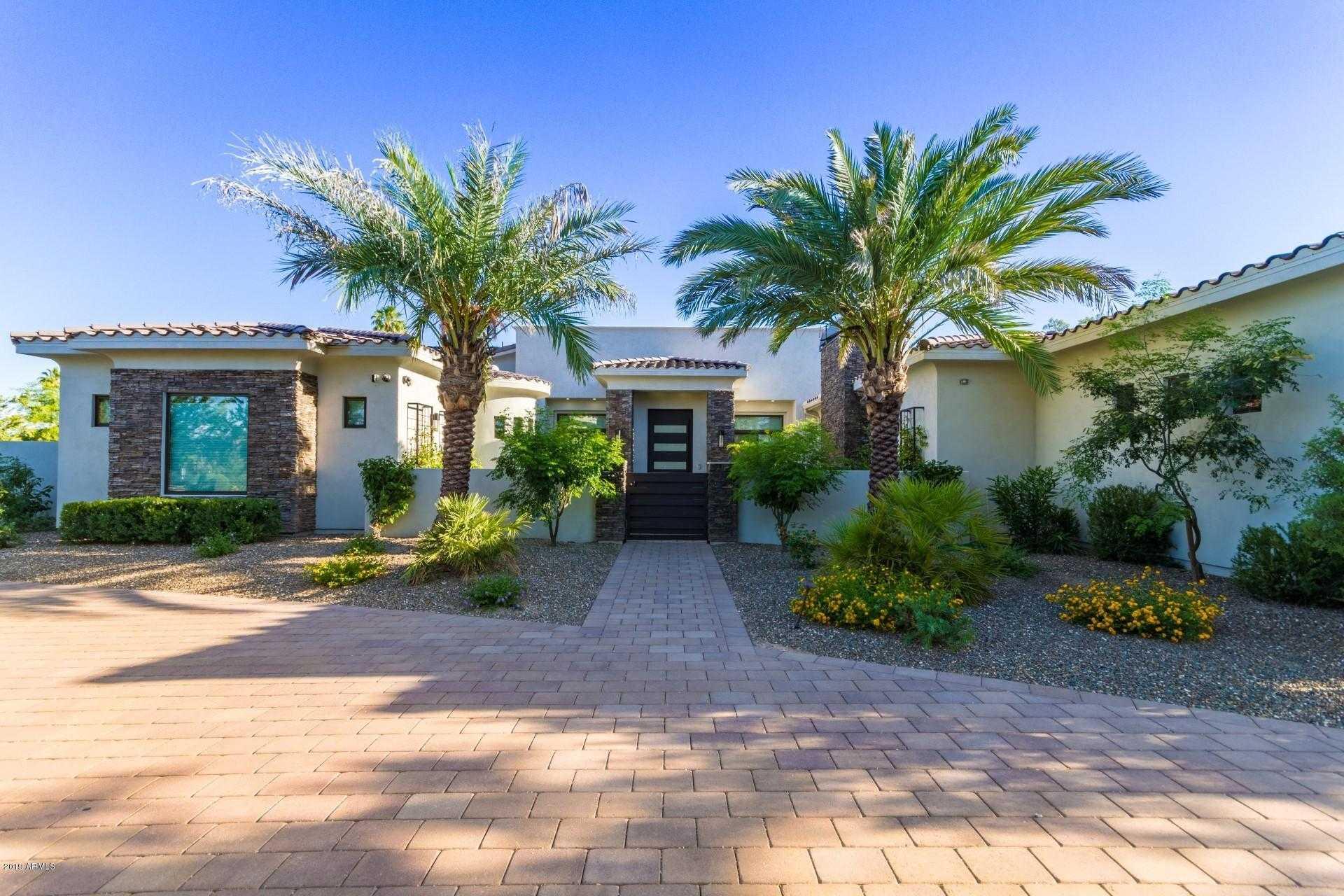 $3,595,000 - 5Br/6Ba - Home for Sale in Mockingbird Lane Estates 6, Paradise Valley