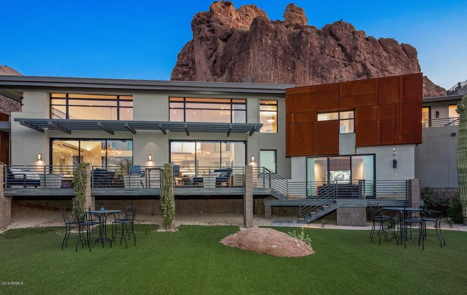 $9,500,000 - 5Br/6Ba - Home for Sale in Stone Canyon, Paradise Valley