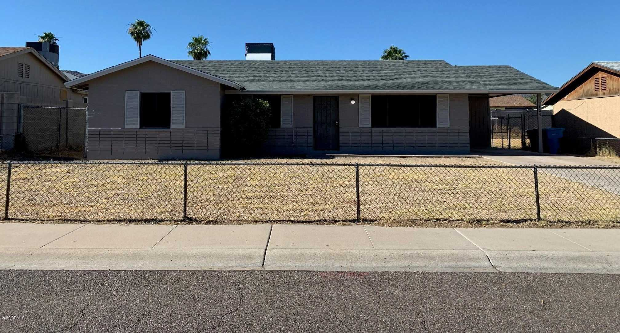 $200,000 - 4Br/2Ba - Home for Sale in Valley View Manor 4, Phoenix