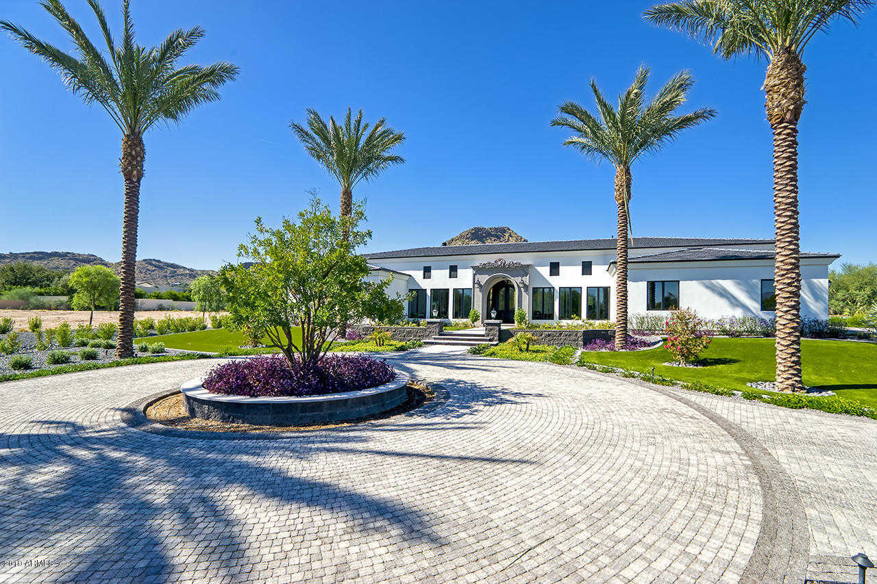 $6,000,000 - 5Br/7Ba - Home for Sale in Mummy Mountain Park 8, Paradise Valley