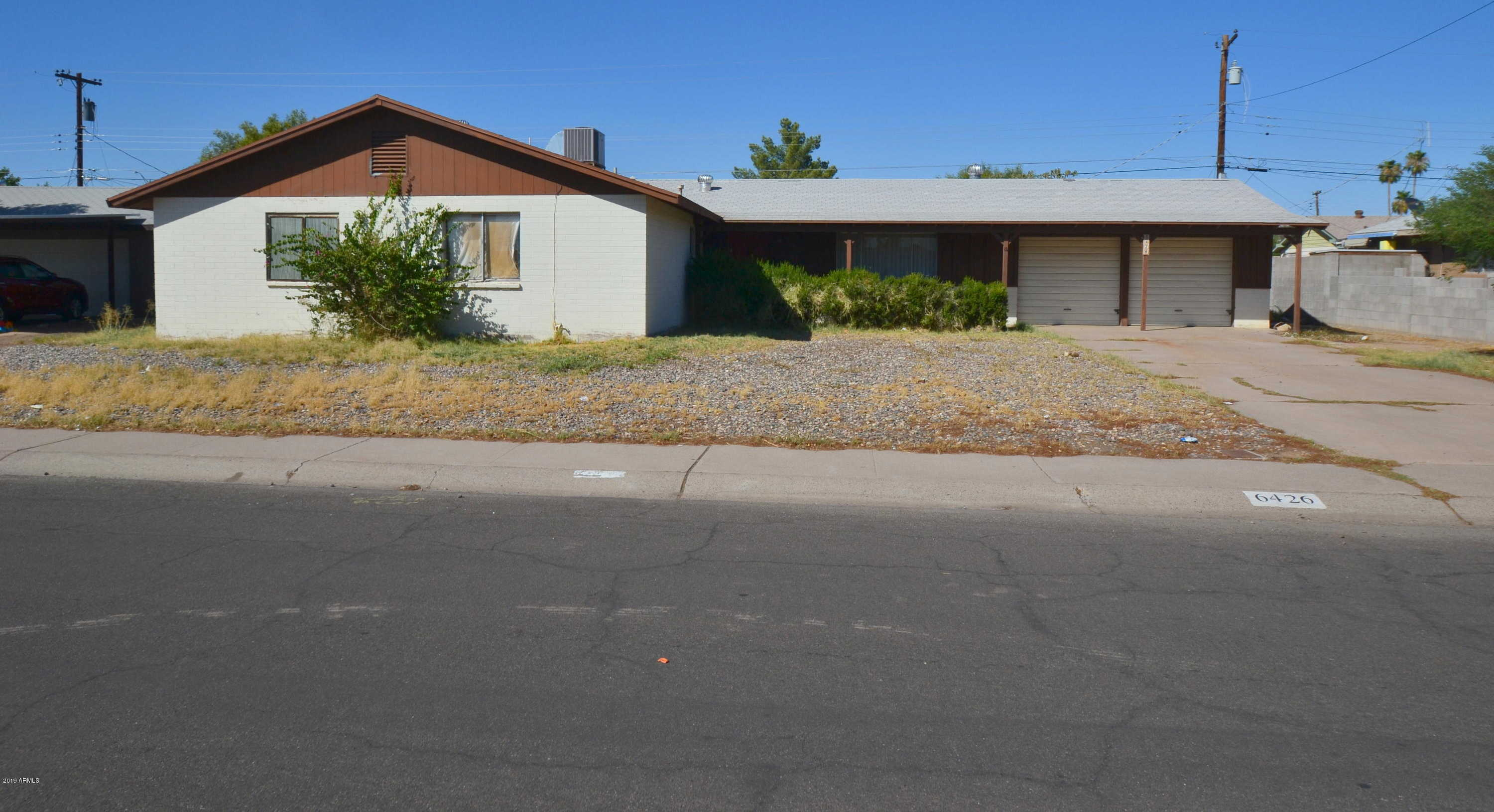 $200,000 - 4Br/2Ba - Home for Sale in Maryvale Terrace 20 Lots 6944-6948, Glendale