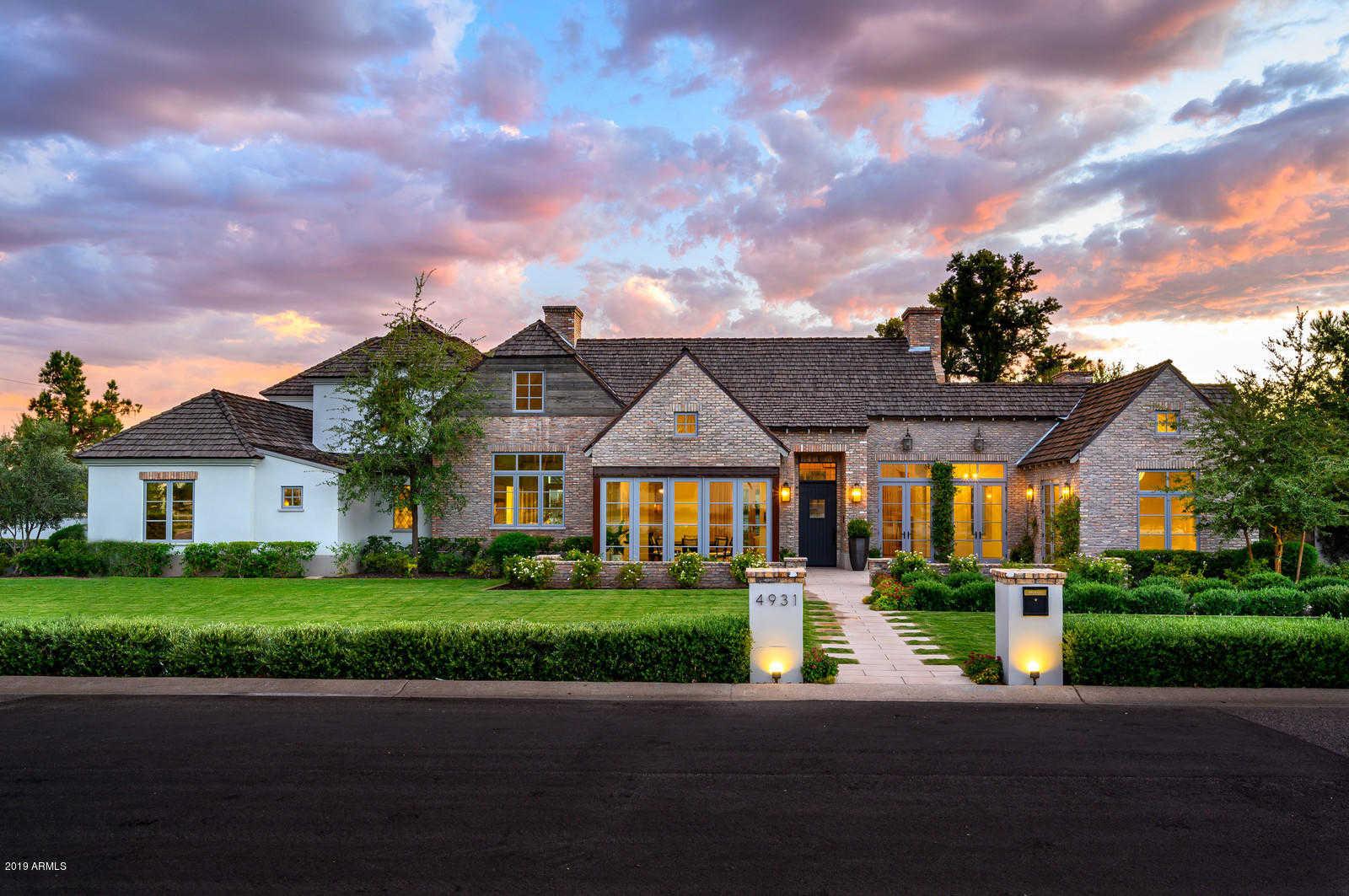 $3,795,000 - 4Br/7Ba - Home for Sale in El Camello, Phoenix
