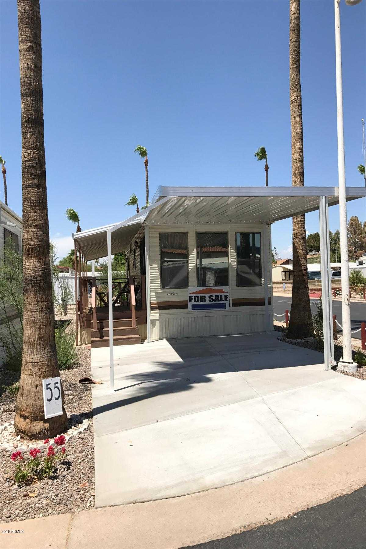 $19,900 - 1Br/1Ba -  for Sale in Patio Gardens Mobile Home Park A 55+community, Mesa