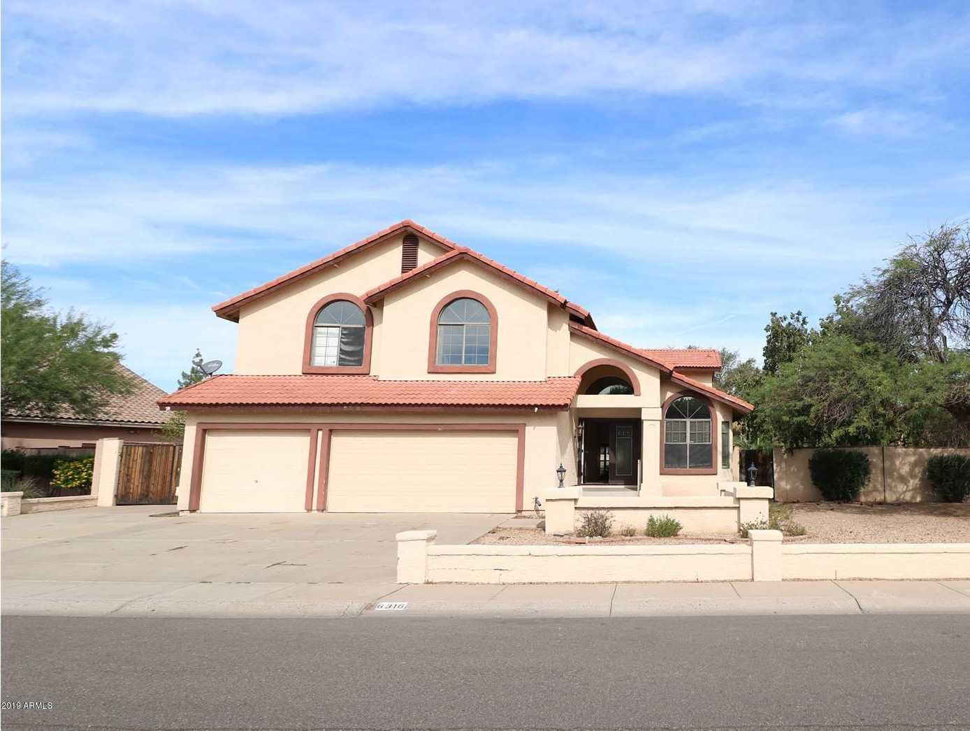 $357,500 - 5Br/3Ba - Home for Sale in Quail Thunderbird Meadow Phase 2 Lot 73-120, Glendale