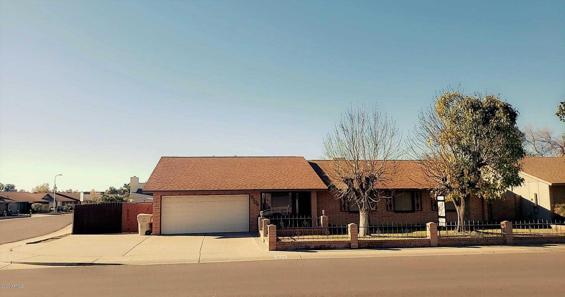 $279,000 - 4Br/2Ba - Home for Sale in Roadrunner Estates West Unit Three Tr A-d, Glendale