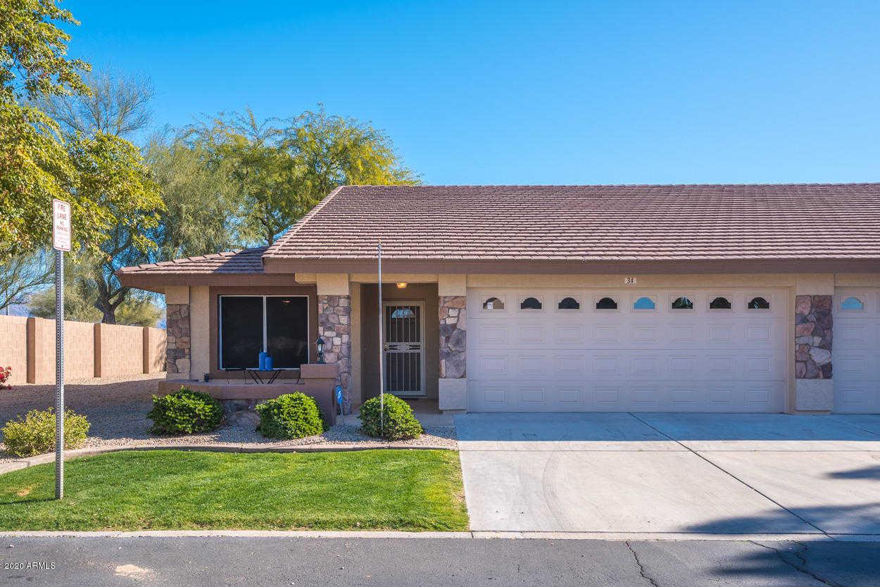 $280,000 - 2Br/2Ba -  for Sale in Sunland Springs Village, Mesa